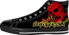 Razrwing Striking SEEKER RW Lettering Black High Tops