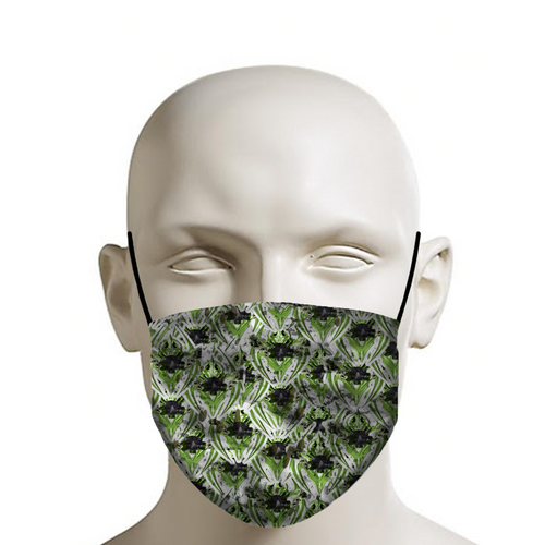 RAZRWING GAS CREST STICKERS DECOR X Face Mask