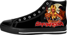 Razrwing Snatch Story Razrwing Alured SNATCH RW Lettering Black High Tops Left side