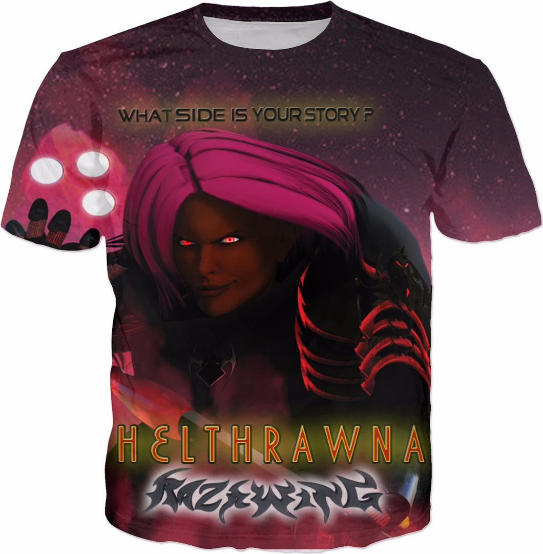 RAZRWING-HELTHRAWNA-SKYNN-WHAT SIDE IS YR STORY? Rage T