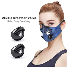 INDIGOSION DEFENDS SORUL Face Mask With Breather Valve
