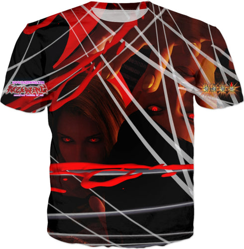 Razrwing Snatch Story RW SEDUCTION THREADS of DRIPPING RED AGE ROT DECAY OR FEAR T SHIRT Front
