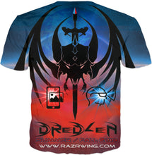 Razrwing Dredlen Collection D R E D L E N -AR MR - T - SHIRT Back