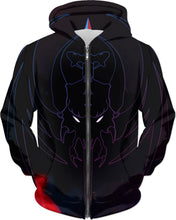 Razrwing Dredlen Collection RAZRWING  D R E D L E N -FIRE- HOODIE Front