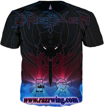 Razrwing Dredlen Collection RAZRWING INDIGOSION F.E.A.R S. D R E D L E N AR XR -T-SHIRT Back