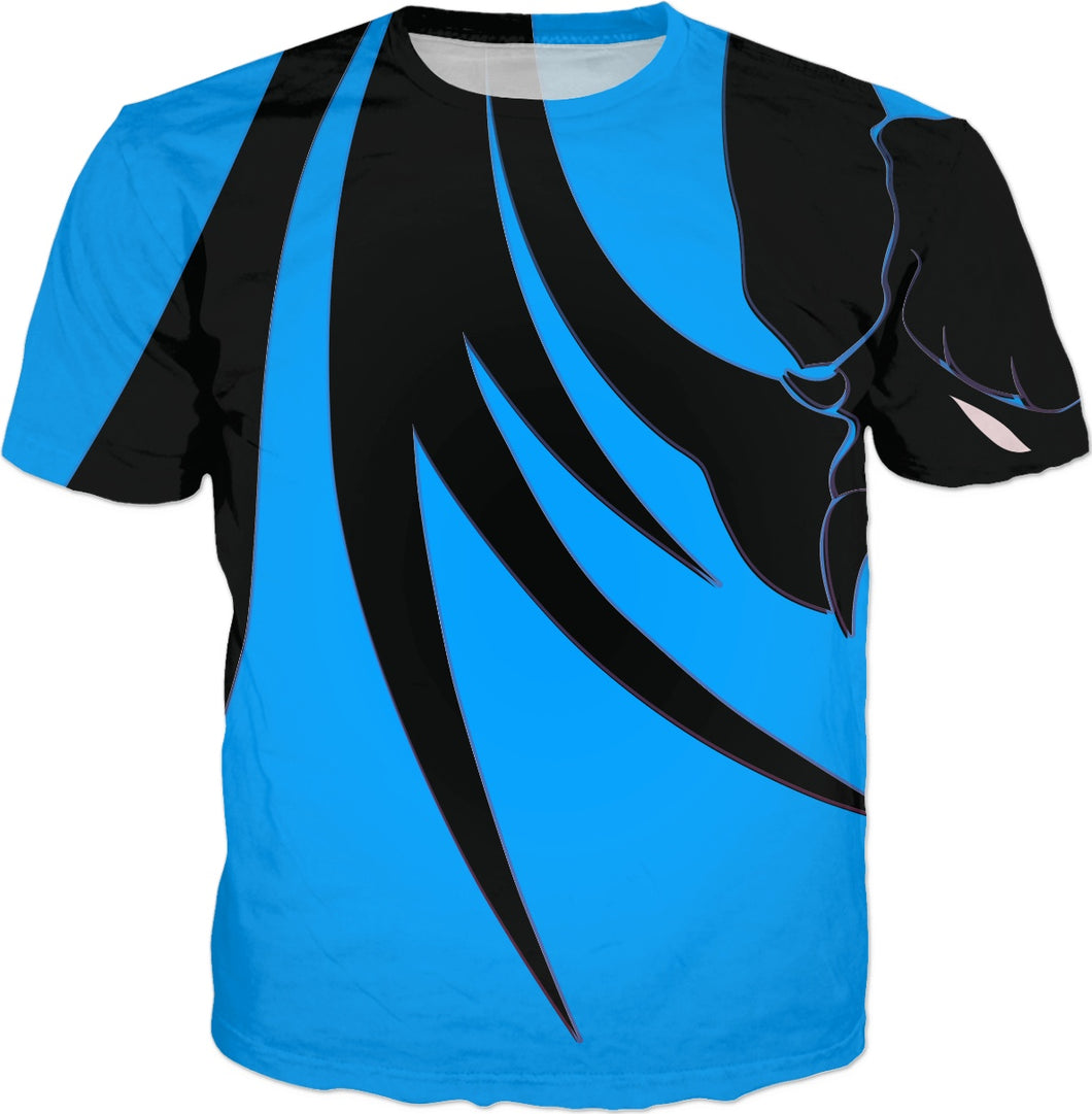 Razrwing Dredlen Collection CHOOSE YR F.E.A.R.- D R E D L E N -T -BLUE SHIRT Front