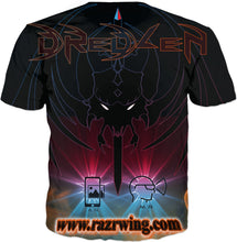 Razrwing Dredlen Collection RAZRWING BRYAN ..F.E.A.R S...D R E D L E N AR XR -T-SHIRT Back
