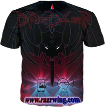 Razrwing Dredlen Collection RAZRWING HELTHRAWNA F.E.A.R S. D R E D L E N AR XR -T-SHIRT Back