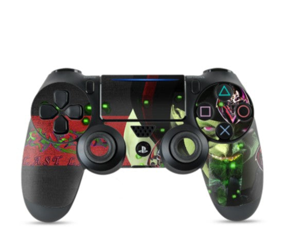 RAZRWING-THE LAST LAUGH-SONY PS4 CONTROLLER SKIN