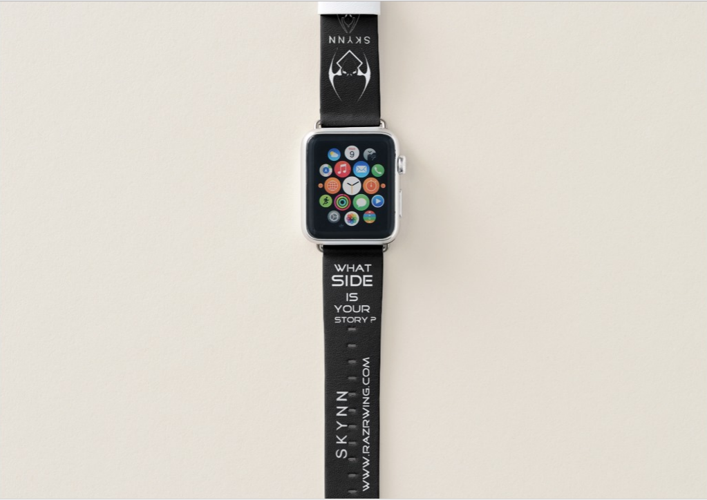 RAZRWING:SKYNN-Protect the Outer-38mm Apple Watch Band