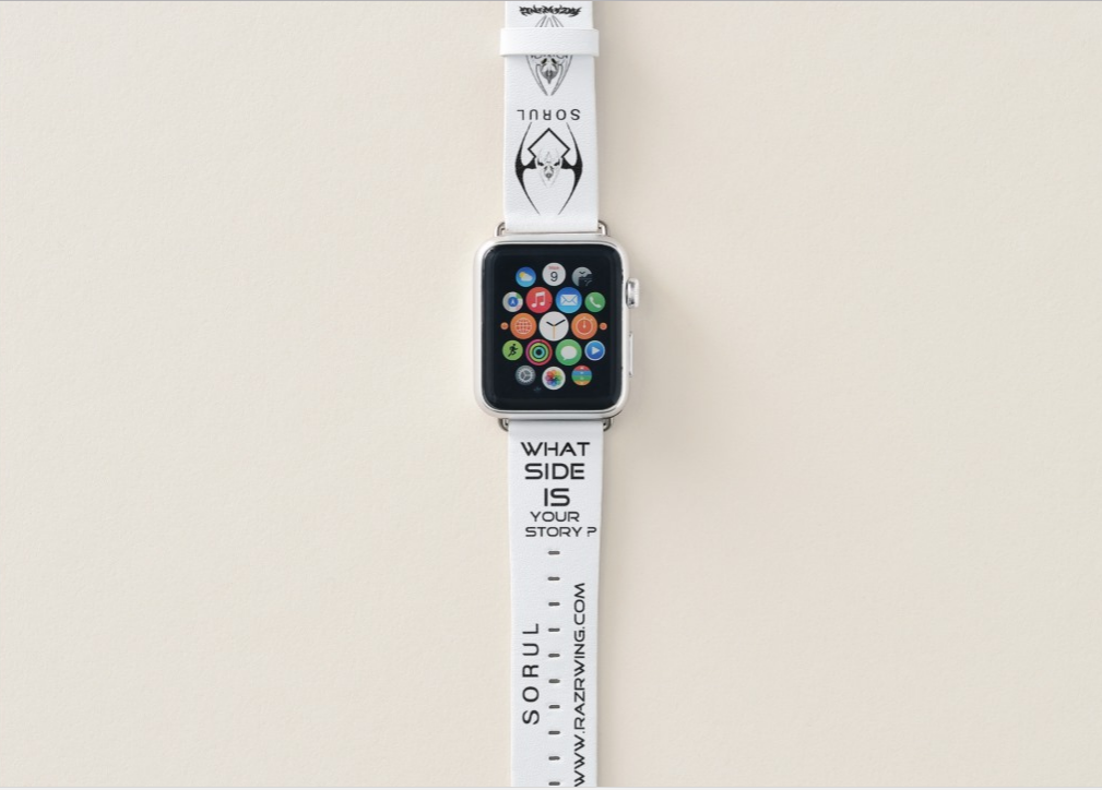 RAZRWING: SORUL-Defend the Inner-38mm Apple Watch Band