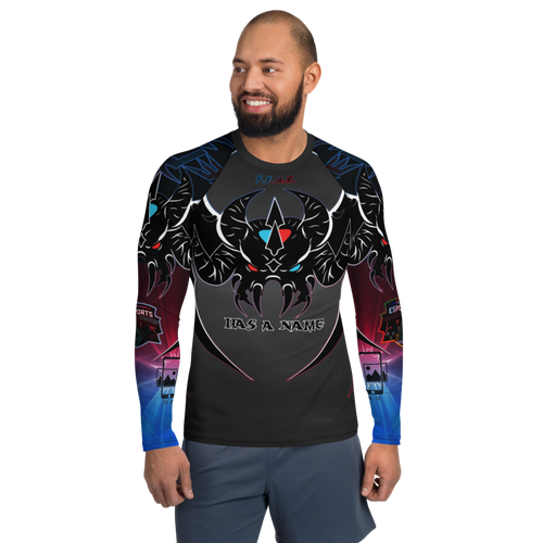 DREDLEN  F.E.A.R. Has a Name  Rash Guard Long Sleeve