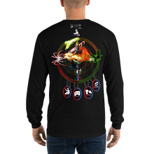 Razrwing Dark Crest Brand Collection REUNITE WHAT F.E.A.R. FEARS Long Sleeve T-Shirt Back