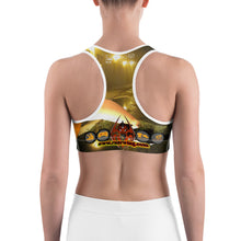RAZRWING VICTIM FIRE LETTERING Sports bra