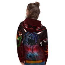 Razrwing Dredlen Collection RW DREDLEN HELTHRAWNA F.E.A.R. ABOVE THE SURFACE Hoodie Back