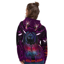 Razrwing DREDLEN Collection JESS SAM SUSAN POWER OF SEDUCTION Hoodie Back