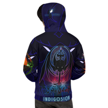 Razrwing Dredlen Collection RW DREDLEN INDIGOSION F.E.A.R. BELOW THE SURFACE Hoodie Back