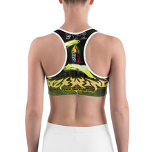 STYERIA FANG AGGRESSIVE ALIEN Sports bra