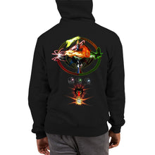 Razrwing Dredlen Collection DREDLEN PROPHECY Champion Hoodie Back
