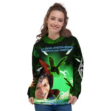 Razrwing Dredlen Collection RW DREDLEN MATILDA POWER OF ATTENTION Hoodie Front