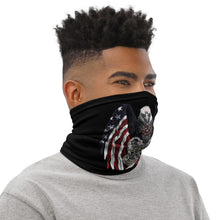 AMERICA WILL PROTECT WHEN YOU WONT SERVE Neck Gaiter