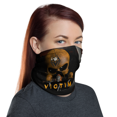 RAZRWING VICTIM SKULL CREST Neck Gaiter