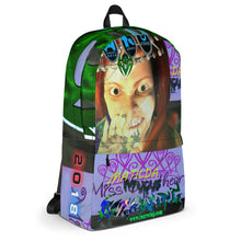 Razrwing Dark Crest Brand Collection RAZRWING MATILDA The ATTENTIVE GRL 2018 AR MR HOLOGRAM Backpack Right Side