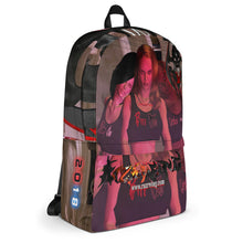 Razrwing Dark Crest Brand Collection RAZRWING SAM JESS SUSAN The SEDUCTEASE 2018 AR MR  HOLOGRAM Backpack Right Side