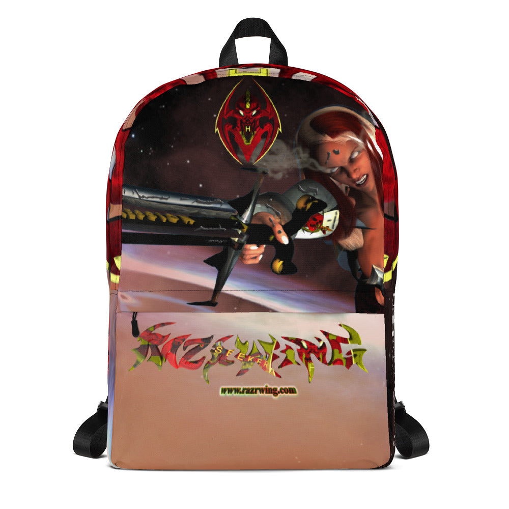 RAZRWING: STYERIA The AGGRESSOR  2018 AR MR  HOLOGRAM Backpack