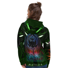 Razrwing Dredlen Collection RW DREDLEN MATILDA POWER OF ATTENTION Hoodie Back