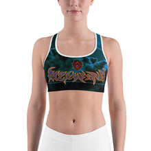 RAZRWING MOLTEN SEEKER LETTERING Sports bra