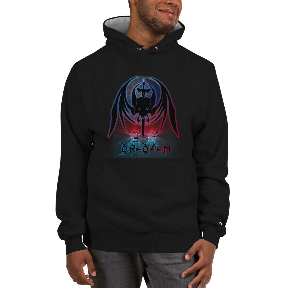 Razrwing Dredlen Collection DREDLEN PROPHECY Champion Hoodie Front