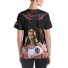 Razrwing Snatch Story RAZRWING Susan Sam and Jess Speyeder SWORD T Black Shirt Back
