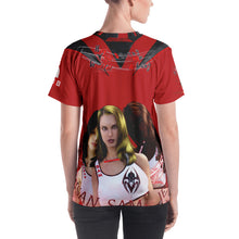 RAZRWING Susan,Sam and Jess CRIMSON Speyeder SWORD T SHIRT