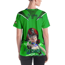 Razrwing Burn Story RAZRWING MATILDA Thorn SWORD GREEN T SHIRT Back