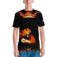 Razrwing Victim Story Collection RAZRWING BRYAN MAIDEN FIRE Black T SHIRT Front
