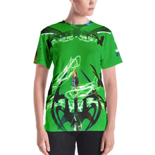 Razrwing Burn Story RAZRWING MATILDA Thorn SWORD GREEN T SHIRT Front