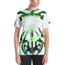 Razrwing Burn Story RAZRWING :MATILDA THORN SWORD WHITE T SHIRT Front