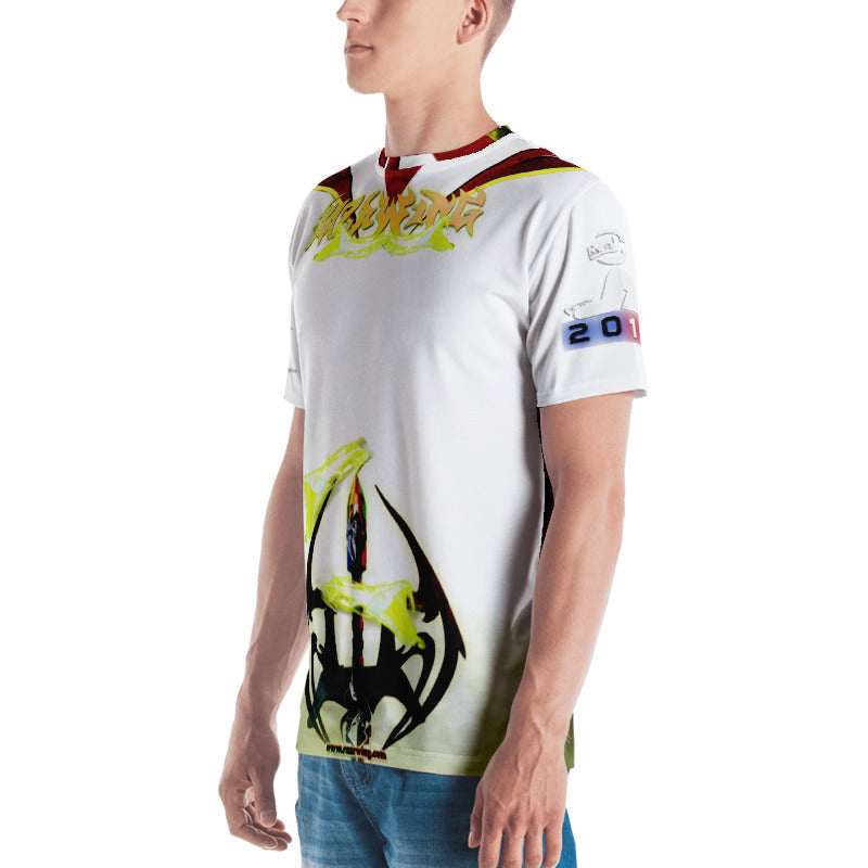 RAZRWING  STYERIA FANG SWORD WHITE T SHIRT