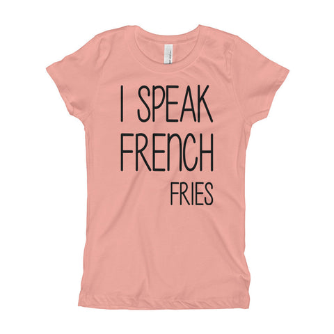 """French Fries"" Girl's T-Shirt"