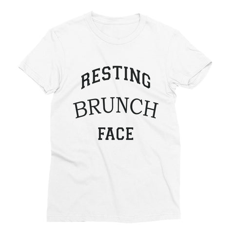 """Resting Brunch Face"" Women's Short Sleeve T-Shirt"