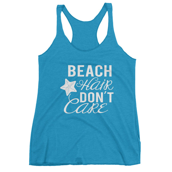 """Beach Hair Don't Care"" Women's tank top"