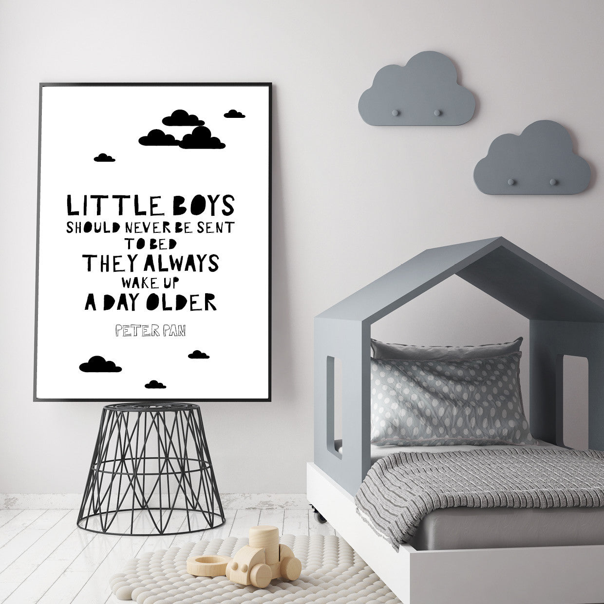 Boys Nursery Bedroom Wall Art Prints & Posters