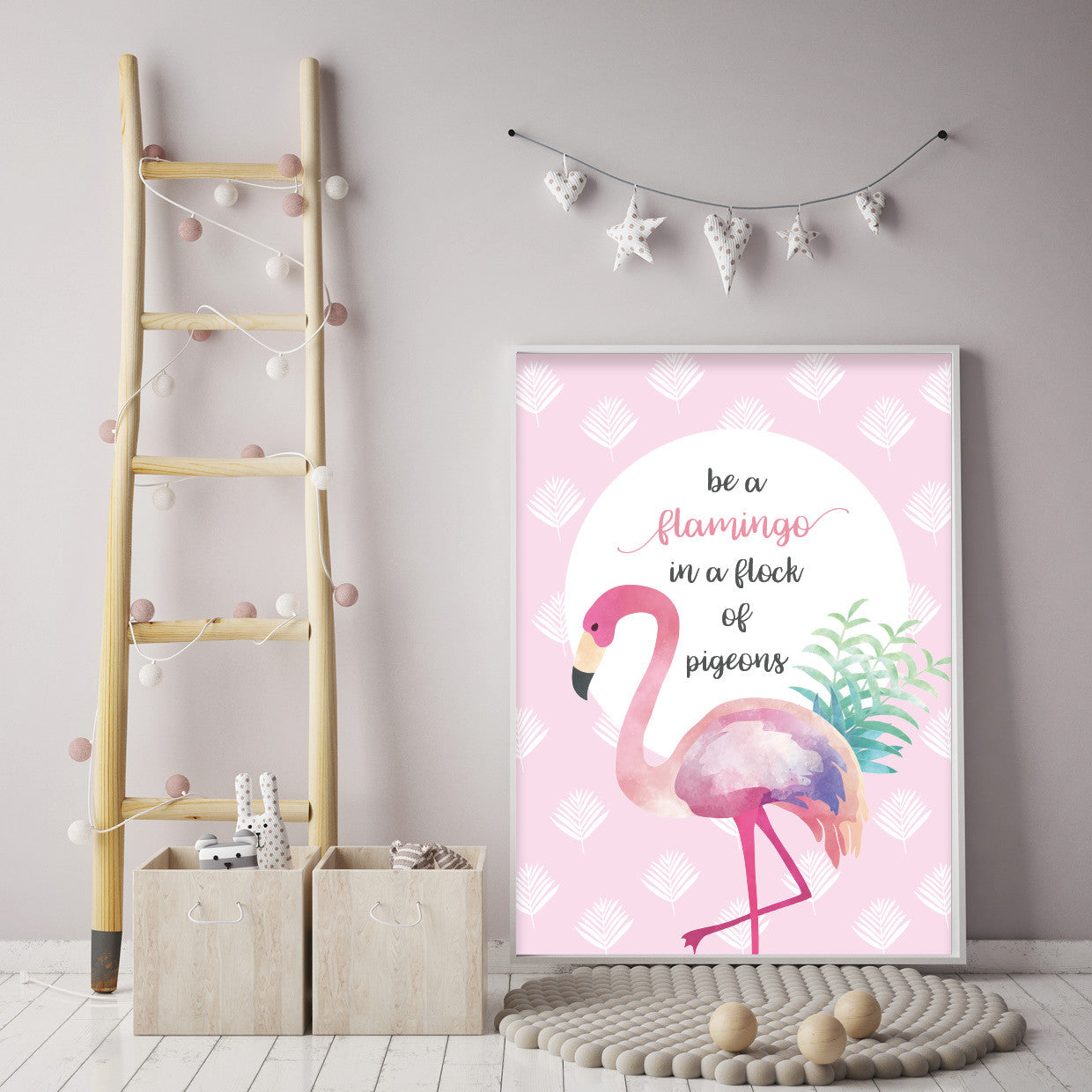 Girls Nursery Bedroom Wall Art Prints & Posters