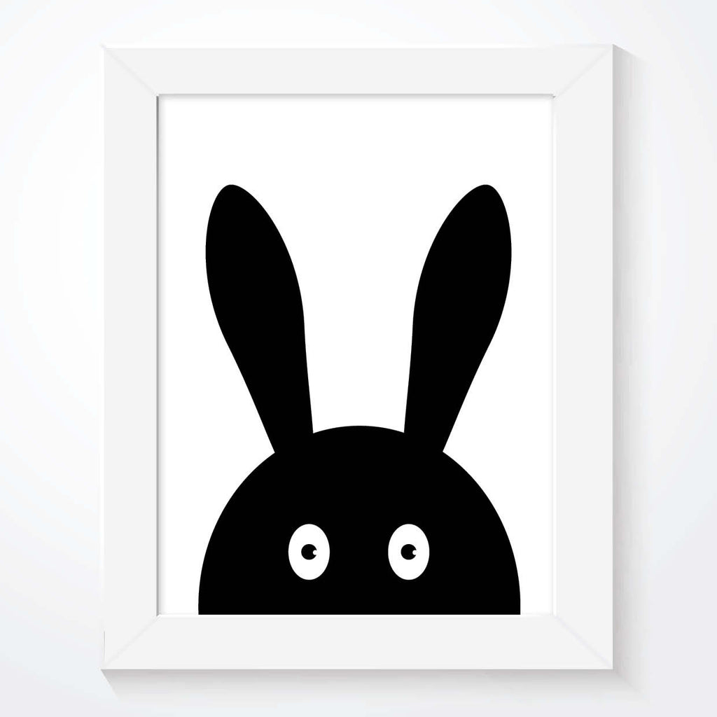 Rabbit Nursery Print - Couture Moments