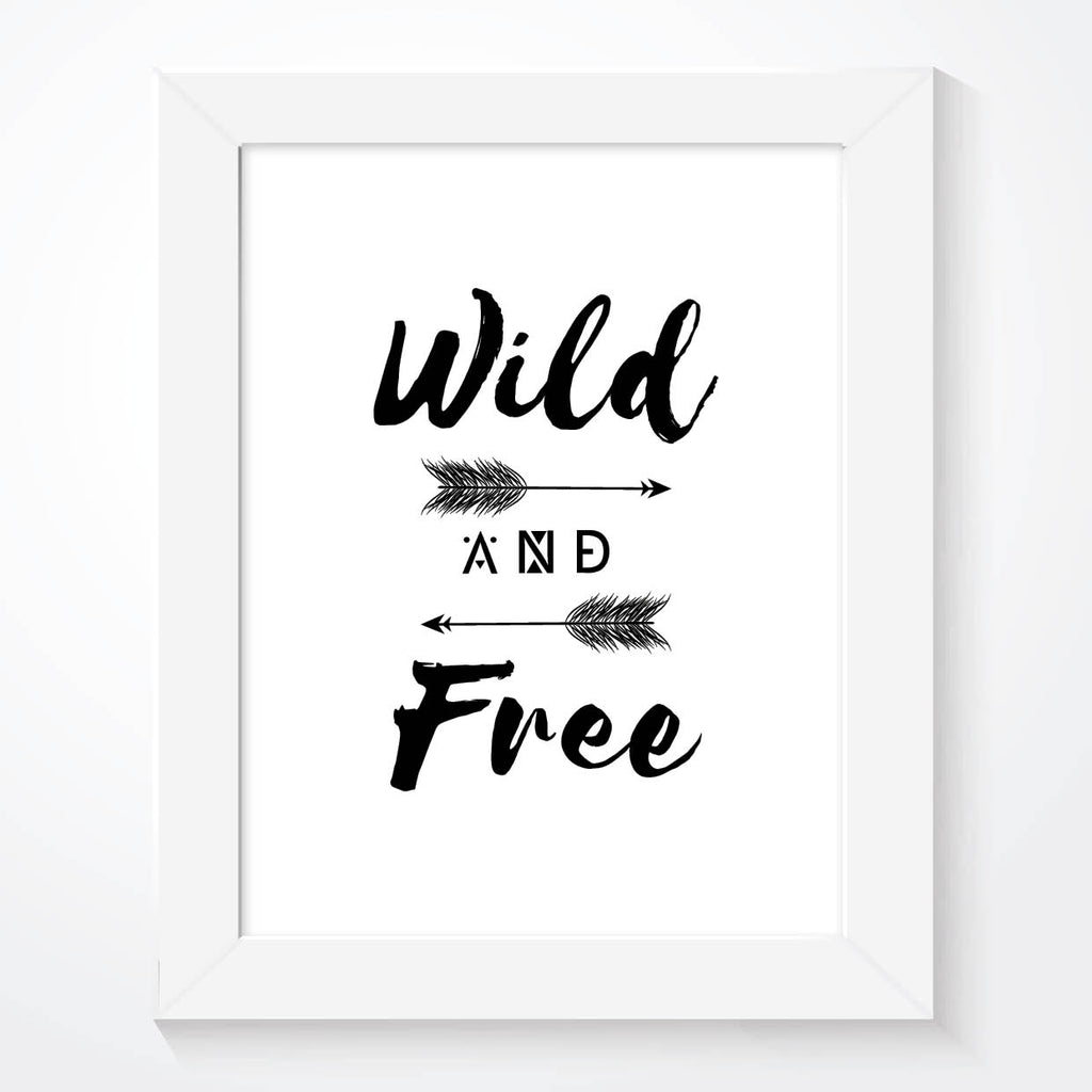 Wild And Free Boys Print - Couture Moments