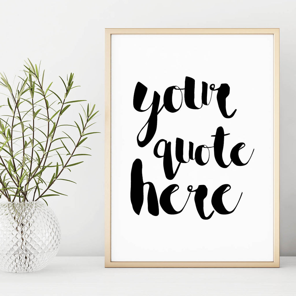 Customised Wall Art Print - Couture Moments