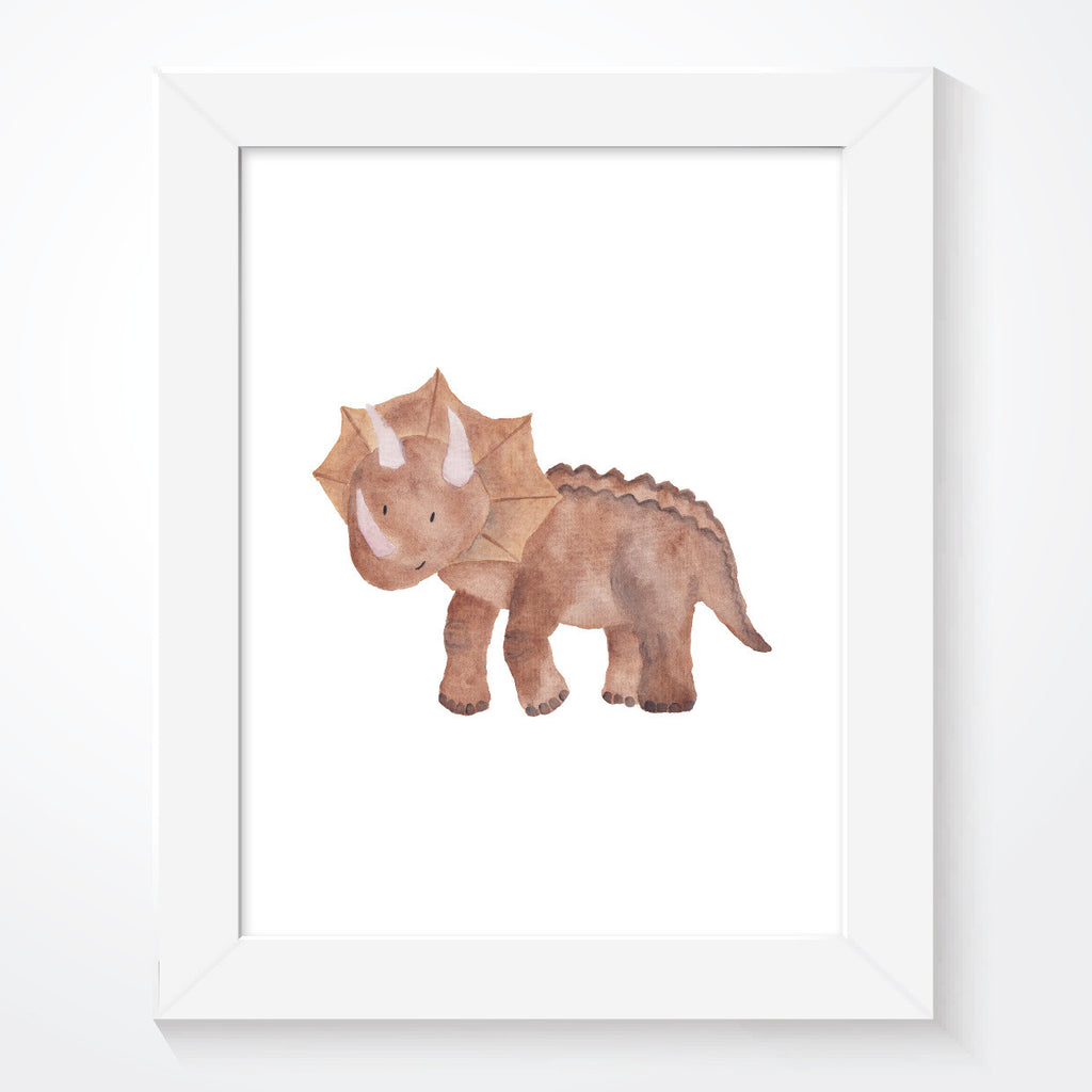 Boys Dinosaur Bedroom Print