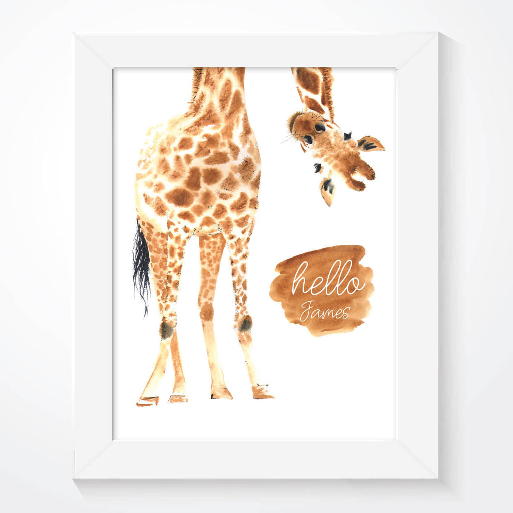 Giraffe Print - Couture Moments