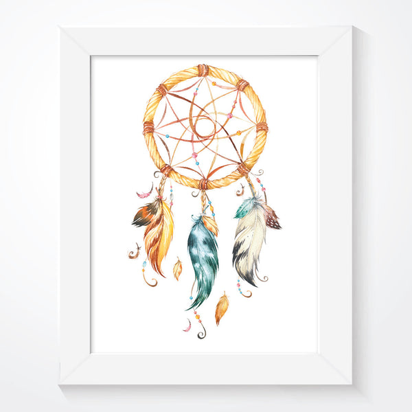 Tribal Dream Catcher Poster